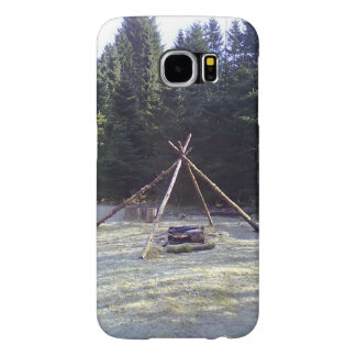 Resting place in the forest samsung galaxy s6 cases
