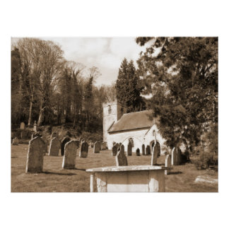 Resting Place XL Canvas Poster