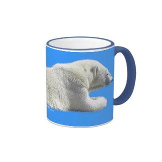 RESTING POLAR BEAR Coffee Mug