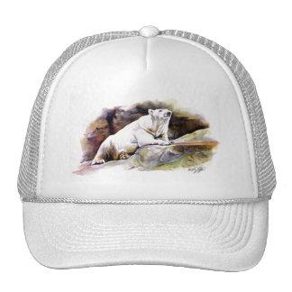 Resting Polar Bear Hat