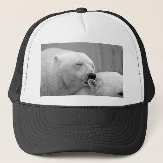 Resting Polar Bear Trucker Hat