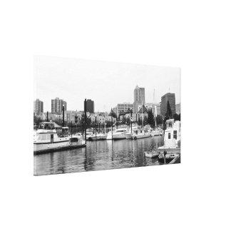 Resting | Portland Waterfront Oregon Canvas Print