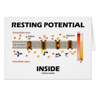 Resting Potential Inside (Sodium-Potassium Pump) Cards