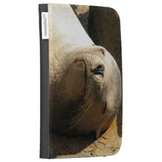 Resting Sea Lion Kindle Folio Kindle 3 Covers