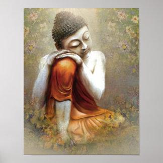 Resting Siddhartha Póster