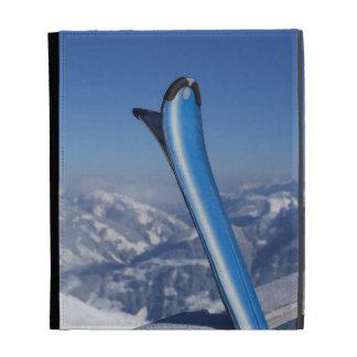 Resting Skis iPad Folio Cover