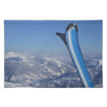 Resting Skis Place Mat
