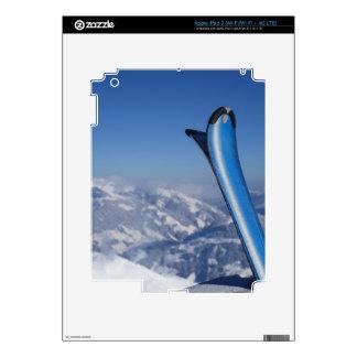 Resting Skis iPad 3 Skins