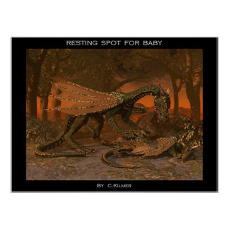 Resting Spot for Baby Print