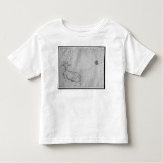 Resting stag toddler t-shirt
