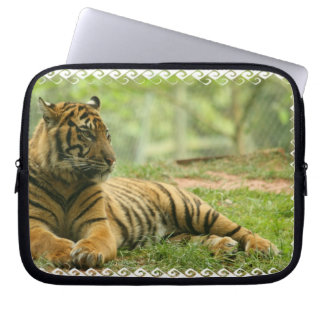 Resting Tiger  Notebook Sleeve Computer Sleeves