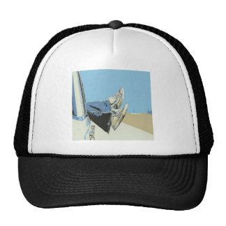 Resting while travelling design trucker hat