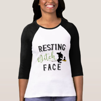Resting Witch Face Jersey T-Shirt
