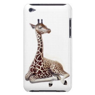 Resting Young African Giraffe iPod Touch Case