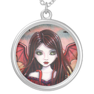 Restless Dusk Vampire Fairy Necklace