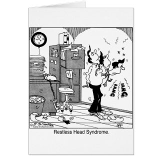 Restless Head Syndrome. Card