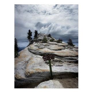 Resto de las nubes - Yosemite Postales