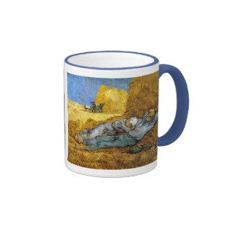Resto del mediodía, Vincent van Gogh Tazas De Café