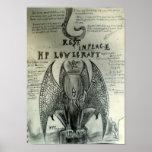 Resto en la paz H.P. Lovecraft Impresiones
