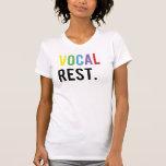 Resto vocal - casquillos coloridos t shirt