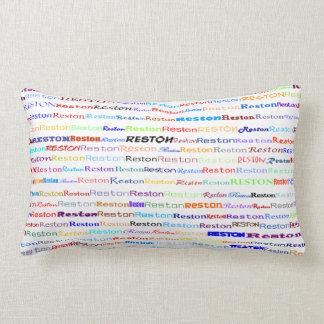 Reston Text Design II Lumbar Pillow
