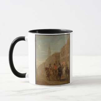 Restoration Procession of Charles II at Cheapside, Mug