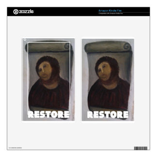 RESTORE 1 KINDLE FIRE DECAL