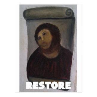 RESTORE 1 POSTCARD