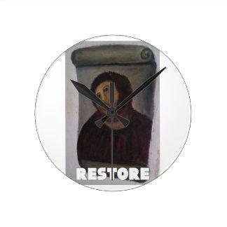 RESTORE 1 ROUND WALLCLOCK