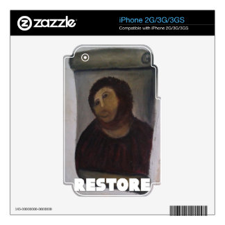 RESTORE 1 SKINS FOR THE iPhone 3GS