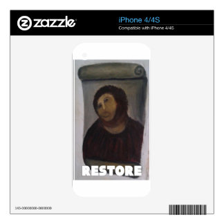 RESTORE 1 SKIN FOR iPhone 4S