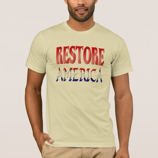Restore America To The American Folks Shirts