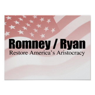 RESTORE AMERICA'S ARISTOCRACY -.png Poster