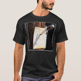 Restore Constitution 2-sided Rockycaldocky Edition T-Shirt