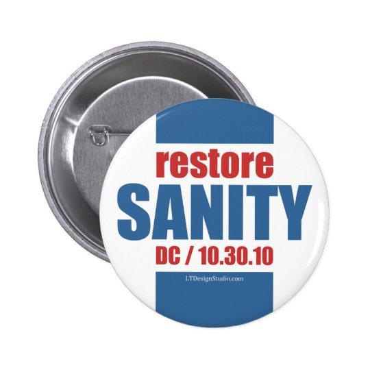 Restore Sanity - Button
