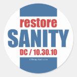 Restore Sanity - Stickers