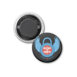 Restore The Fourth... 1 Inch Round Magnet