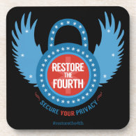 Restore The Fourth Beverage Coasters (<em>$28.95</em>)