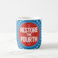 Restore The Fourth Coffee Mug (<em>$16.85</em>)