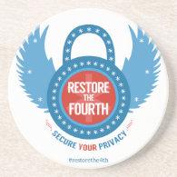 Restore The Fourth... Drink Coaster (<em>$10.50</em>)