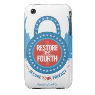 Restore The Fourth... iPhone 3 Case (<em>$31.65</em>)