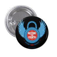 Restore The Fourth... Pinback Button (<em>$2.10</em>)