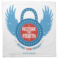 Restore The Fourth Printed Napkin (<em>$36.95</em>)