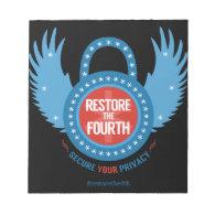Restore The Fourth Scratch Pads (<em>$10.95</em>)