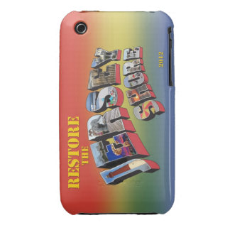 Restore the Jersey Shore iPhone 3G 3GS cover iPhone 3 Case