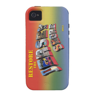 Restore the Jersey Shore iPhone 4 4S cover Case-Mate iPhone 4 Cases