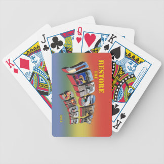 Restore the Jersey Shore playing cards deck