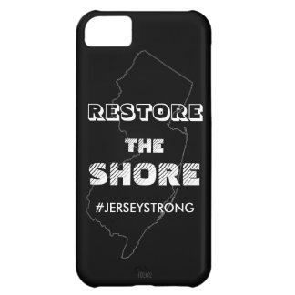 RESTORE THE SHORE - Jersey iPhone Case iPhone 5C Covers