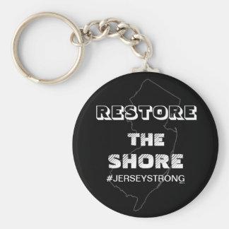 RESTORE THE SHORE - Jersey Keychain