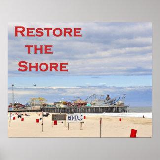 Restore the Shore Poster